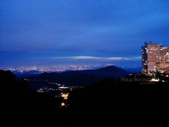 Pemandangan Genting Highlands di waktu malam