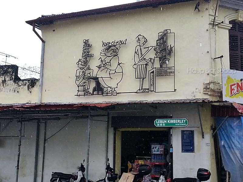 Penang Street Art, Wall Painting