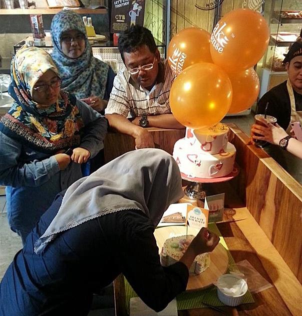 Gambar Ihsan : Cake Sense