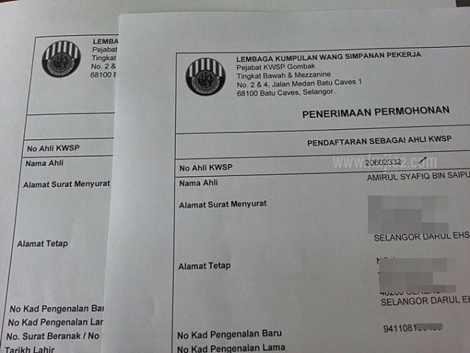 daftar ahli kwsp