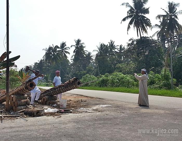 meriam batang kelapa