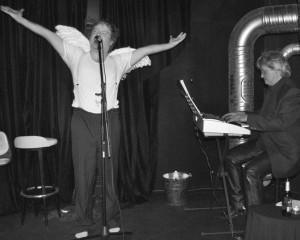 Der Engel und sein Pianist.Foto: mr