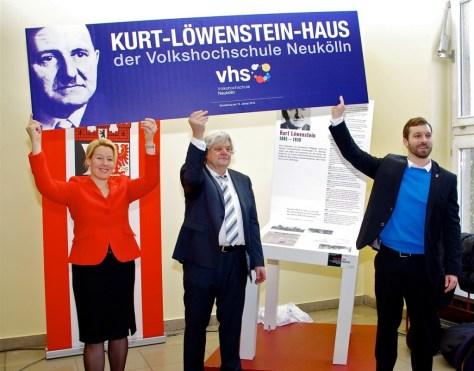 Enthülung und Namensgeb.-Löwenstein
