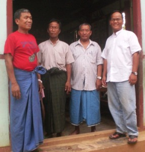 Photos with Kuki Cultural Committee in Homalin