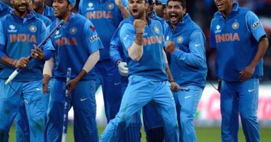 Team India- Cricket World Cup 2015