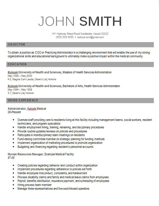 Modern CV Template  Kukook