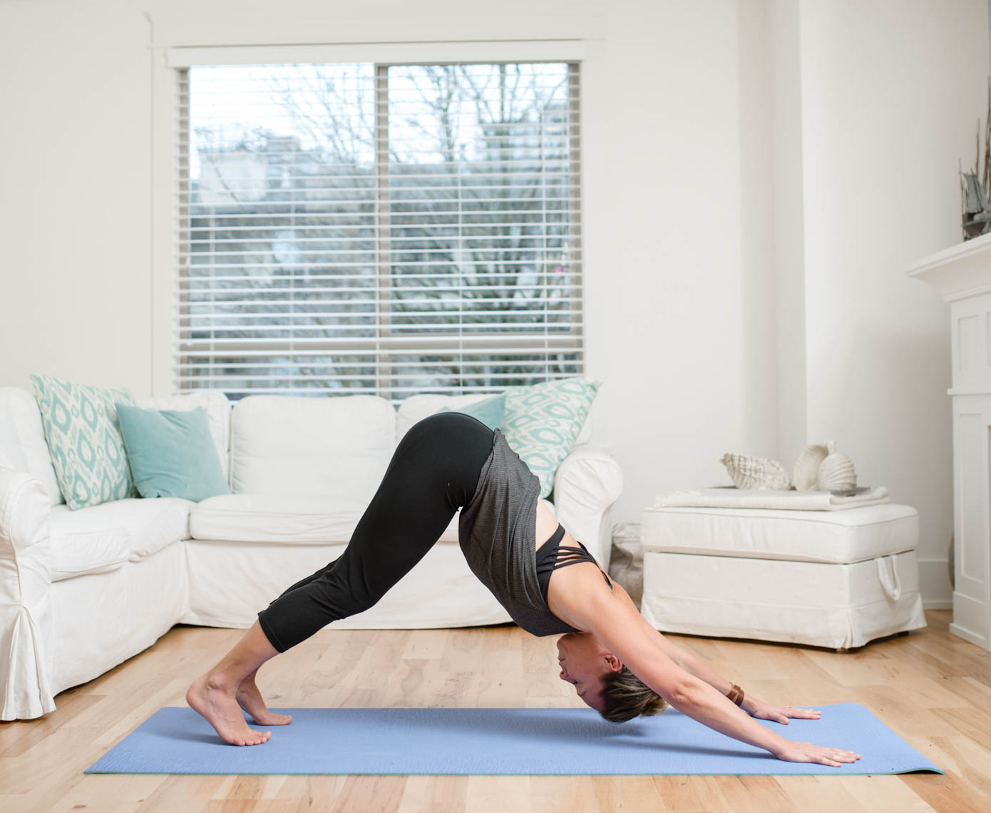 Living Room Yoga Wild Thing Flow  Kukoon Yoga