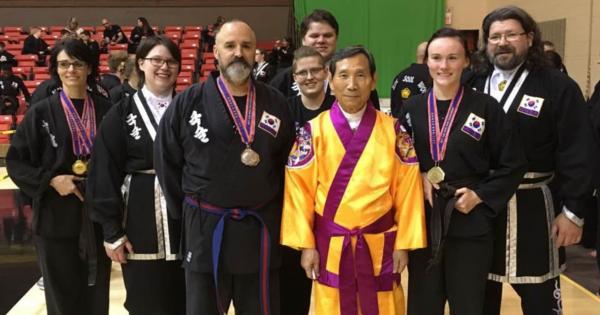 2017 Kuk Sool Won of Muncie team at the Midwest Tournament in St. Louis, Missouri.