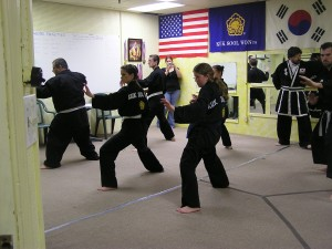 Adults of all sizes and shapes train in Kuk Sool Won