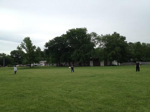 Frisbee Catch 2