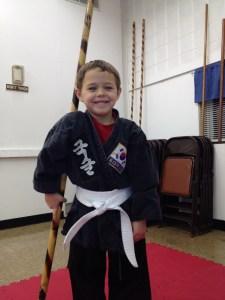 White Belt Boy