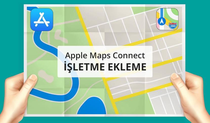 Apple Harita Kaydı Firma Ekleme