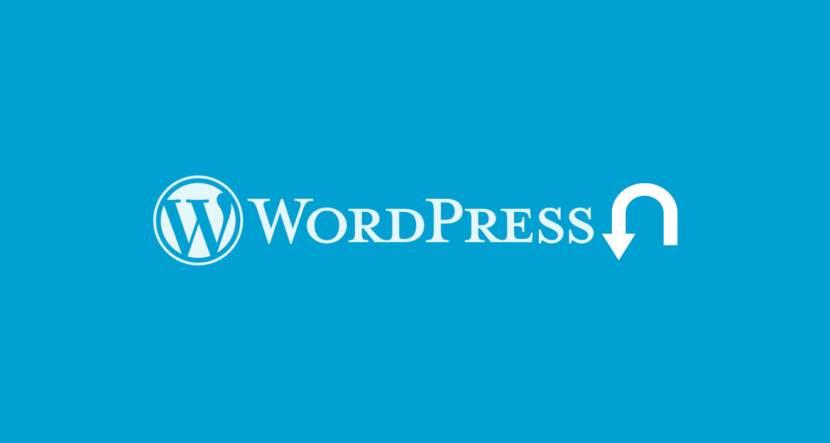 Wordpress Eski Sürüme Geri Dönme
