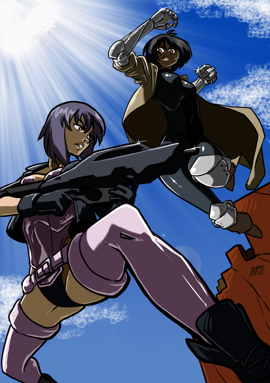 motoko and gully