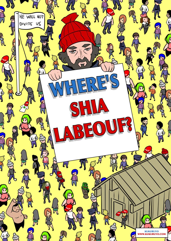 ¿Donde esta Shia Labeouf?