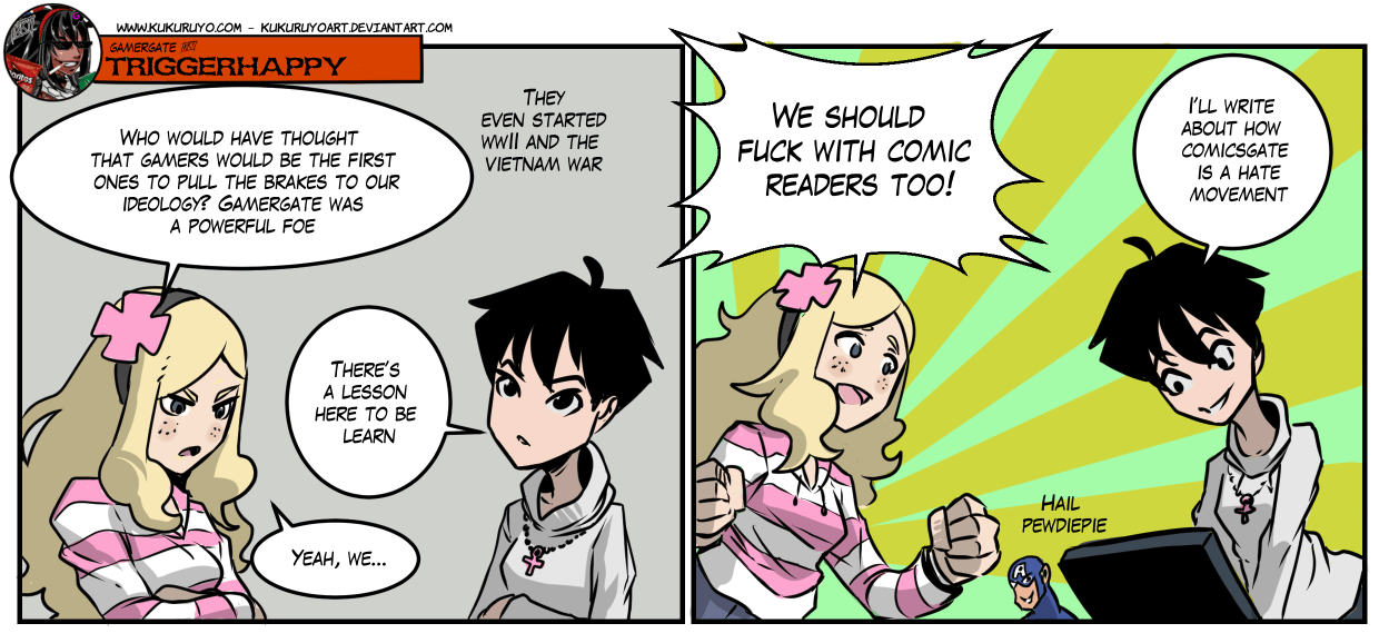 Gamergate Triggerhappy: Diversity & comics