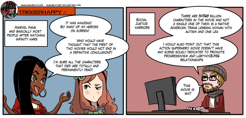 GG Triggerhappy: Infinity war