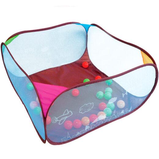 area-de-juegos-con-50-bolas-de-colores