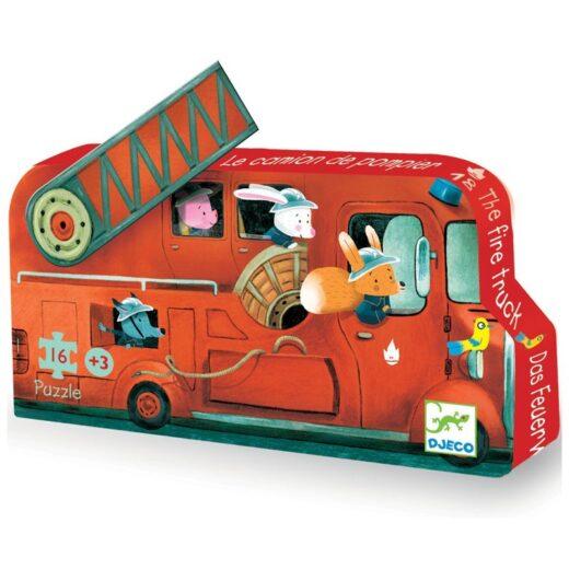 puzzle-silueta-camion-de-bomberos