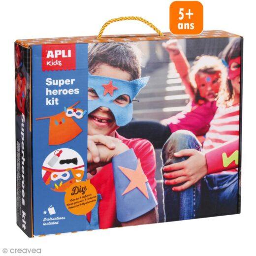 kit-disfraz-superheroes-material-para-4-disfraces-l