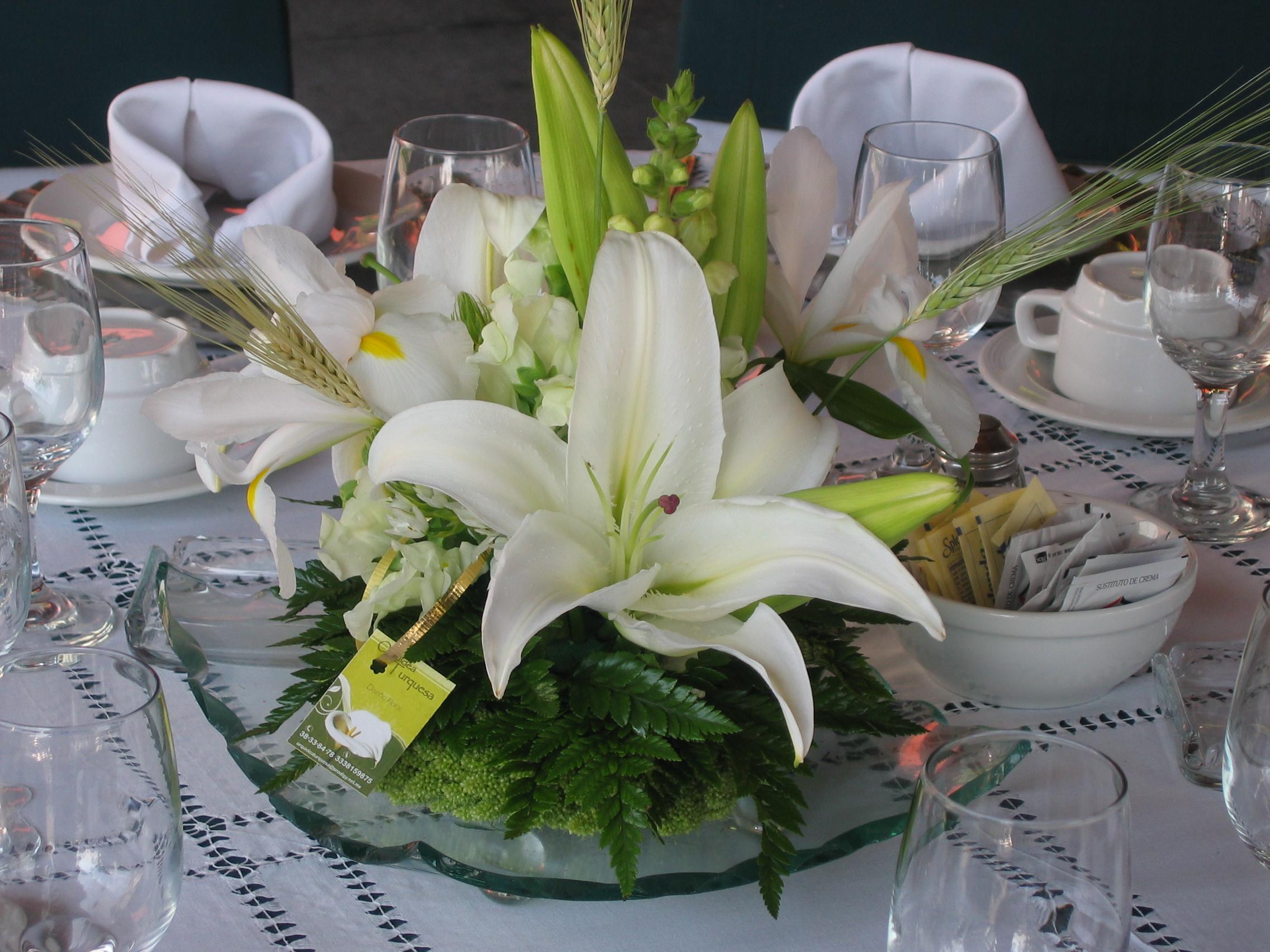 Kukyflor Los mejores centros de mesa para las cenas especiales