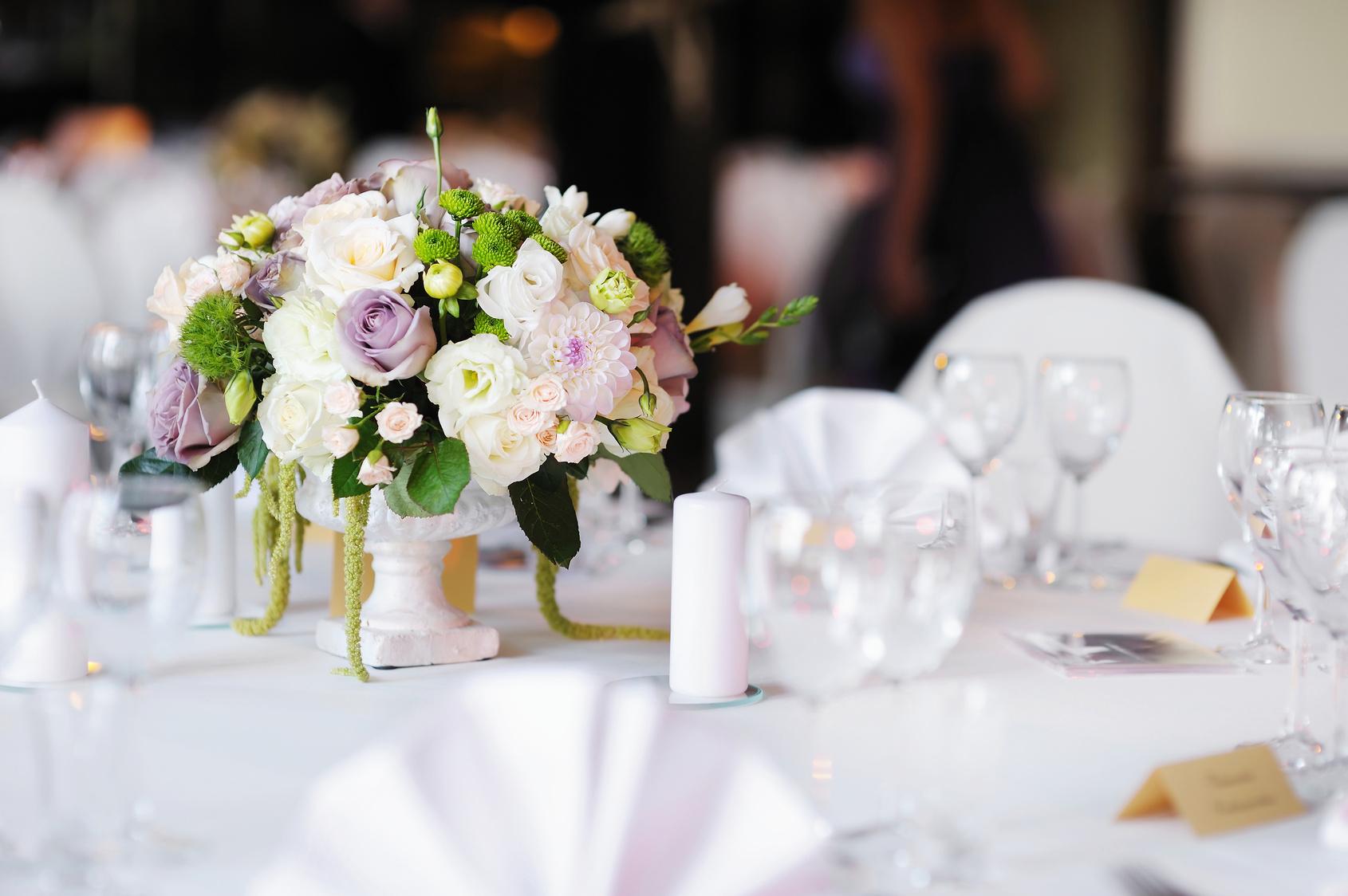 Kukyflor 5 arreglos florales para decorar una boda