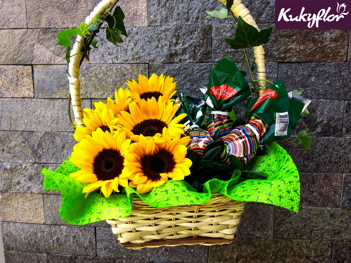 Canasta de Pascua Kukyflor