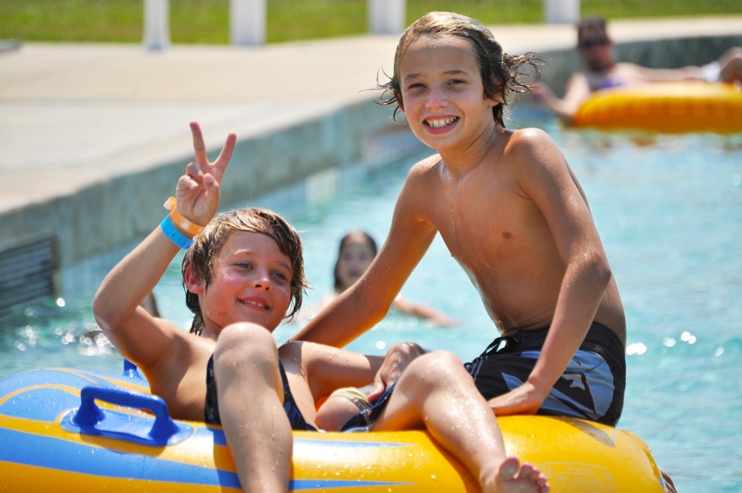 kulaqua river ranch lazy river inner tubes boys images florida's best christian retreat location kulaqua