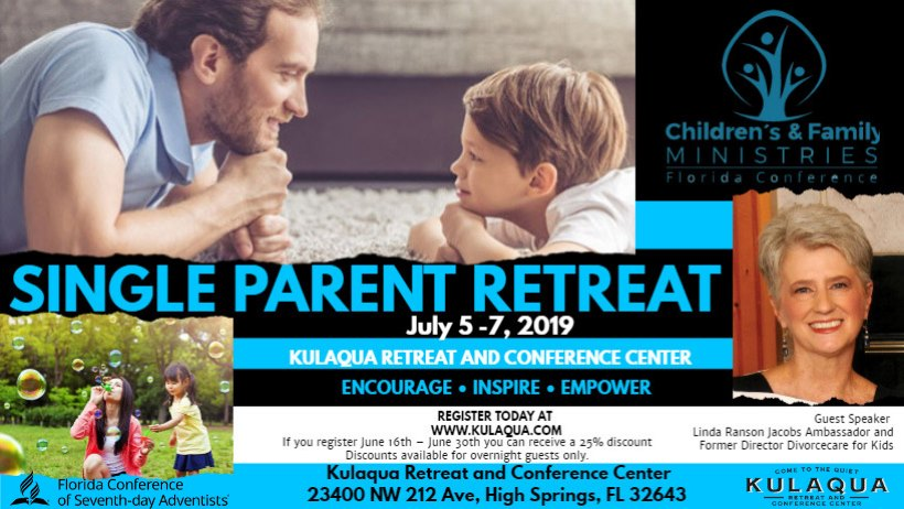 2019 Single Parent Retreat
