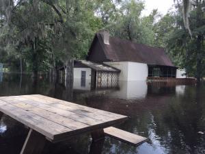 kulaqua retreat and conference center hurricane irma flooding A-Frame flood images florida's best christian retreat location kulaqua