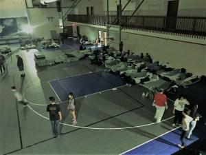 kulaqua retreat and conference center hurricane irma evacuees gymnasium images florida's best christian retreat location kulaqua