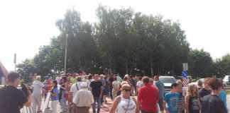 """На Львівщині перекрили трасу """"Київ-Чоп"""""""