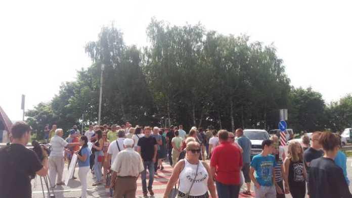 На Львівщині перекрили трасу