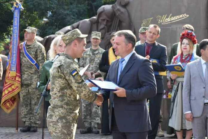 На Львівщині зустріли бійців 24-ї механізованої бригади, які повернулись зі Сходу