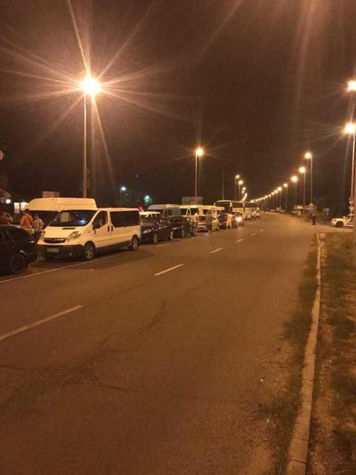 Черги на кордоні з Польщею. Фото Варта-1