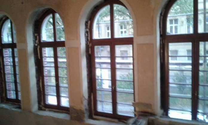 Як у Львові триває реконструкція колишнього Російського культурного центру