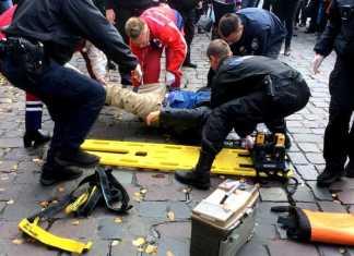 У центрі Львова збили чоловіка. Фото Варта-1