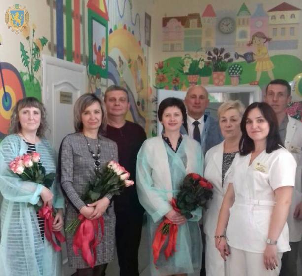 У львівській обласній інфекційній лікарні відкрили оновлене дитяче відділення