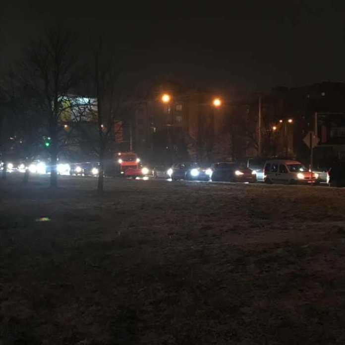 Аварія на Кульпарківській. Фото Варта-1