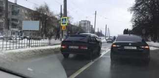 У Львові не розминулись автомобілі. Фото Варта-1
