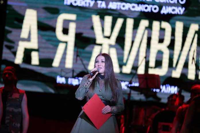 """""""Цей проект про наших п'ять років боротьби"""", - Софія Федина під час презентації авторського альбому. Фото прес-служба ЛОДА"""