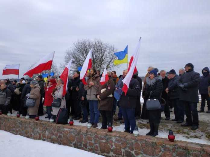 Як поляки на Львівщині вшанували «жертв УПА та дивізії «Галичина»