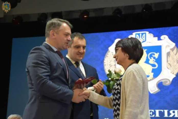 Мешканців Львівщини нагородили грамотами