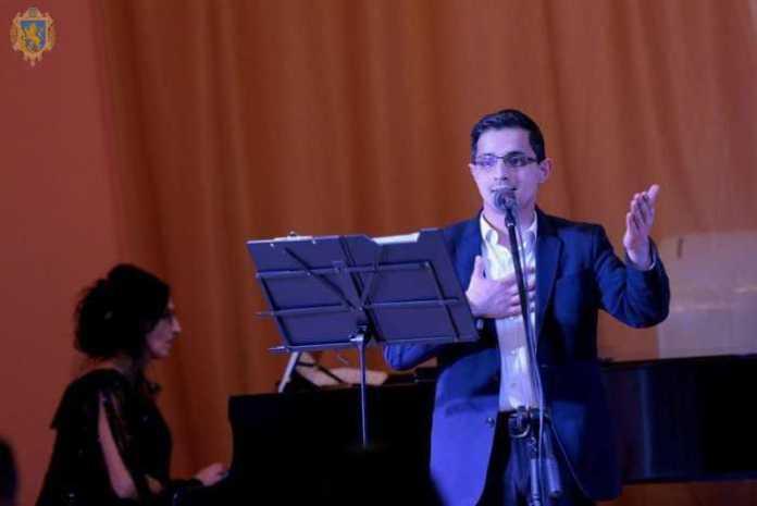 У національній філармонії відбувся творчий вечір, присвячений пам'яті Героїв Небесної Сотні. Фото прес-служба ЛОДА