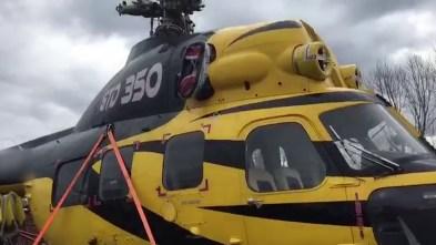 У пункті пропуску «Краківець» вантажівка намагалась ввезти гелікоптер