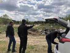 На Жовківщині виявили три несанкціоновані сміттєзвалища. Фото прес-служба ЛОДА