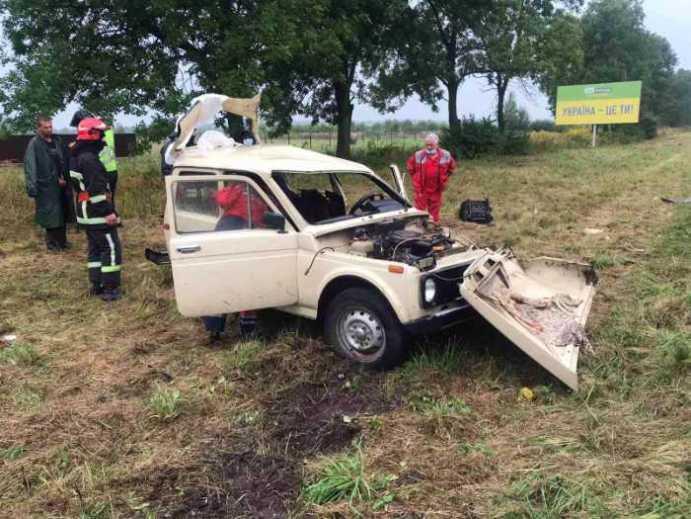 У Жовківському районі трапилась жахлива аварія