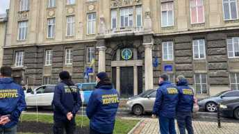 У Львові відбулась акція-перформанс проти колабораціонізму
