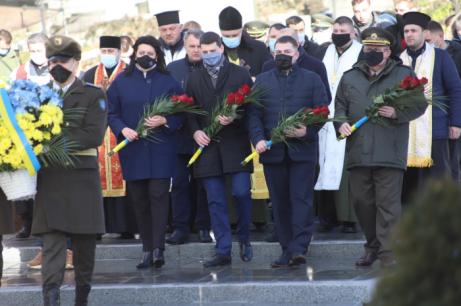 На Личакові вшанували пам'ять Героя Небесної Сотні Юрія Вербицького. Фото: ЛОР
