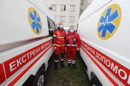 Львівщина отримала 10 карет швидкої допомоги